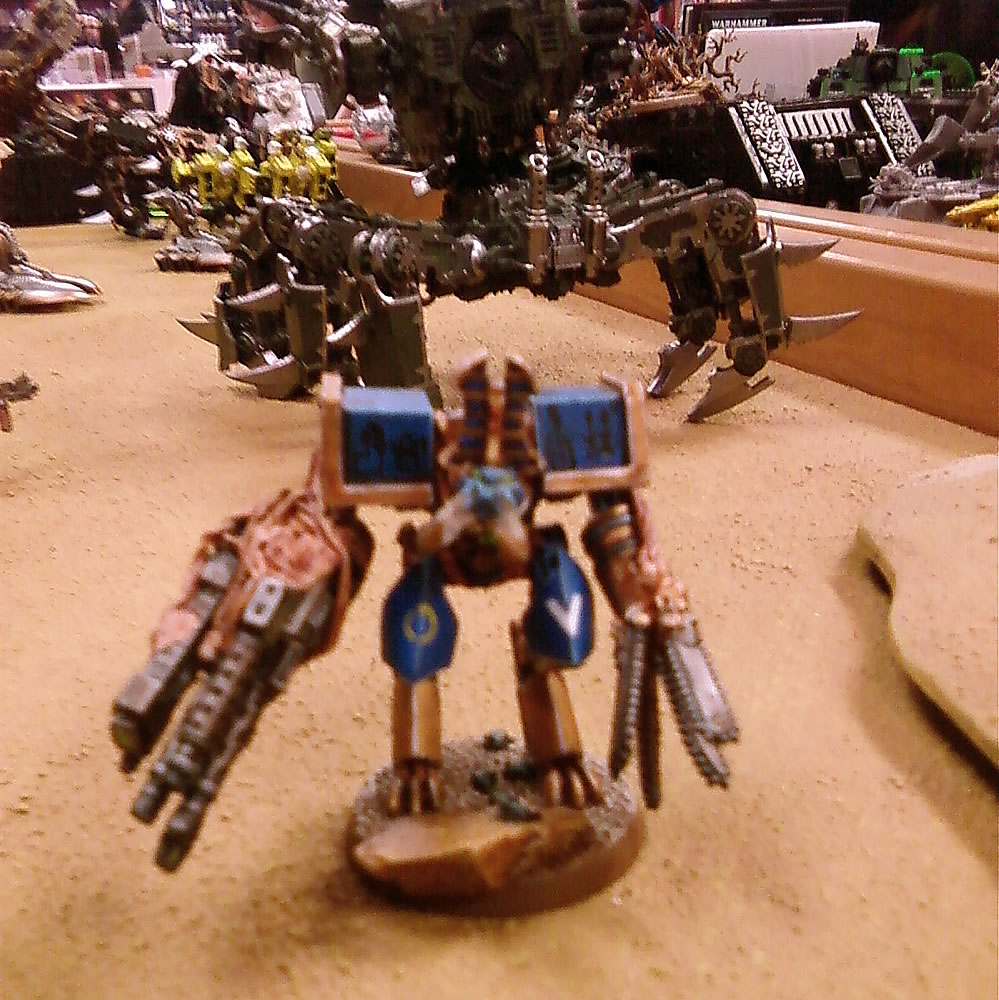 Ancient Egyptian themed Thousand Sons Obliterator conversion