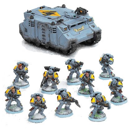 40K ARMY LIST: Space Wolves 2K - Bell of Lost Souls