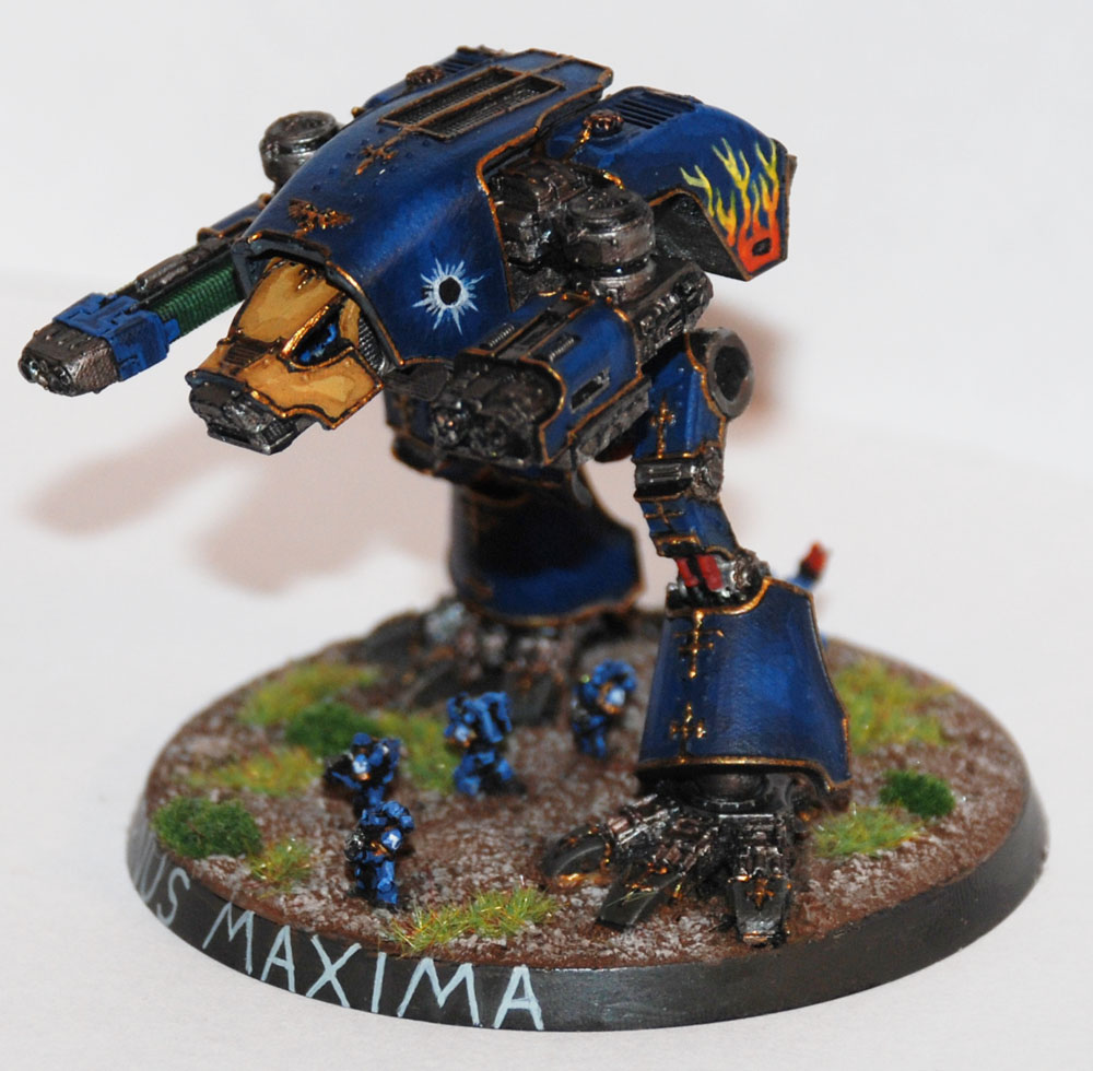 EPIC: Scatch-built Warhound Titan - Bell of Lost Souls