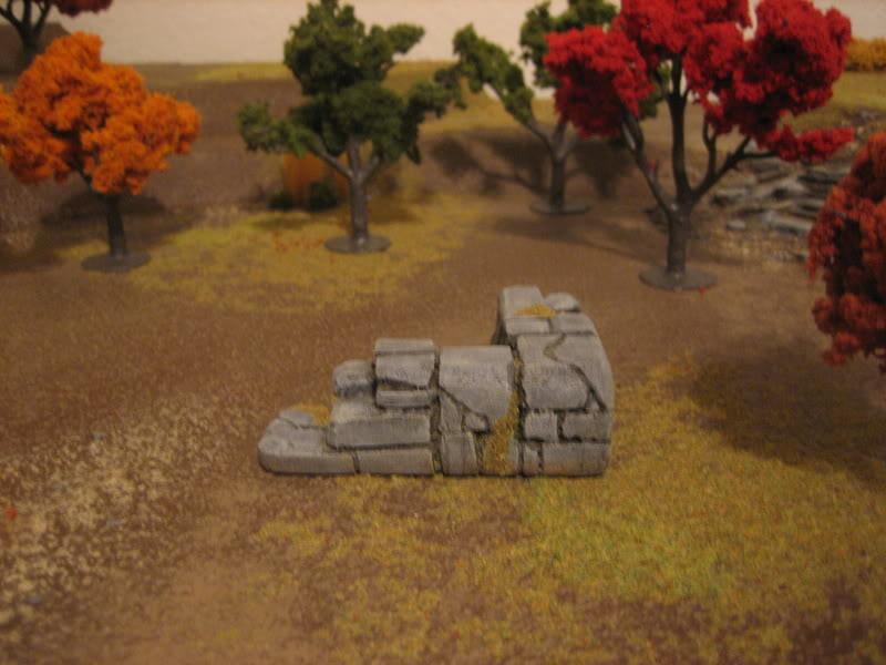 Stone Wall Corner
