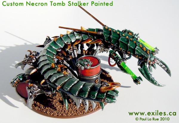 40K HOBBY: Custom Necron Tomb Stalker
