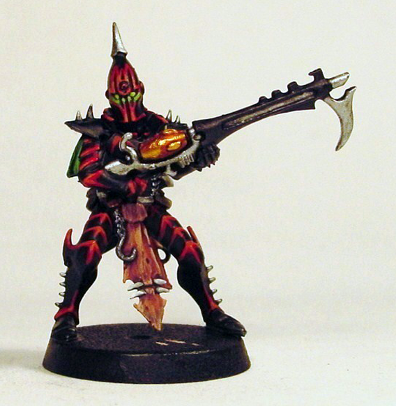 Painting Dark Red Miniatures
