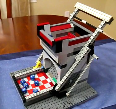 LEGO-dicetower