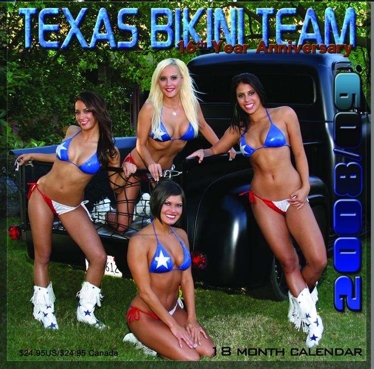 Texas Bikini Team On Stage