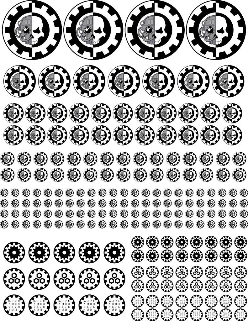 Warhammer 40k Adeptus Mechanicus Vinyl Sticker Decal
