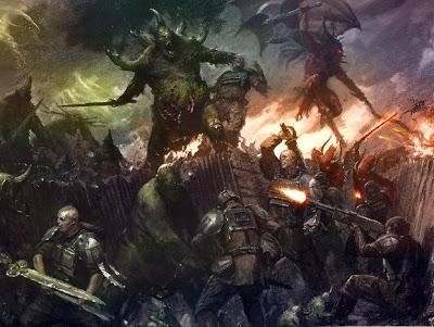 6234_bloodthirster.chaos_.daemon.fire_sword.great_unclean_one.imperial_guard.imperium.khorne.lasgun.majesticchicken.nurgle.paul_dainton.sword_