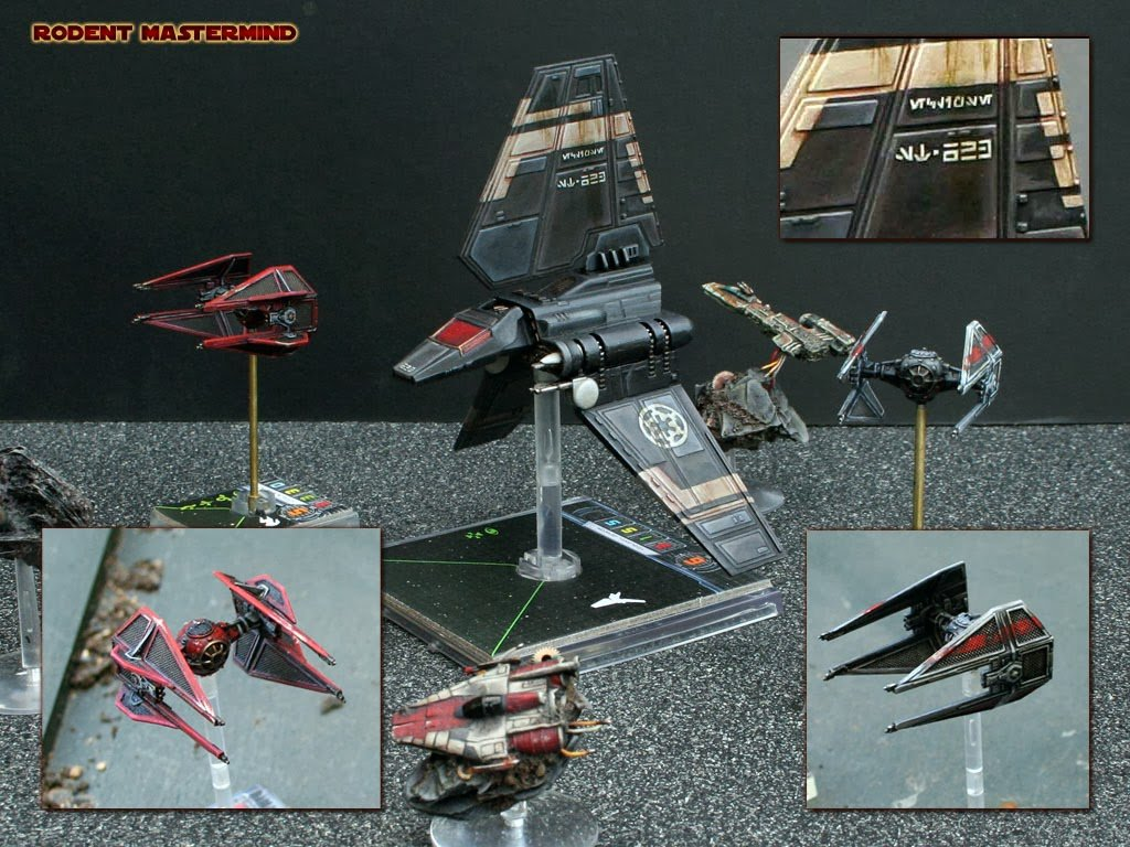 SHOWCASE: Stunning X-Wing Repaints - Bell of Lost Souls X Wing Game