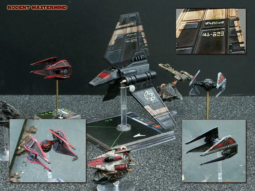 X Wing Game SHOWCASE: Stunning X-W...