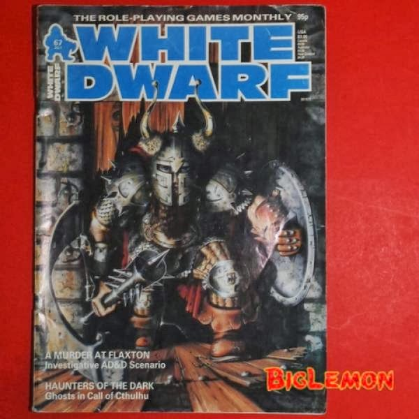 Brent: So If I Ran White Dwarf... - Bell of Lost Souls