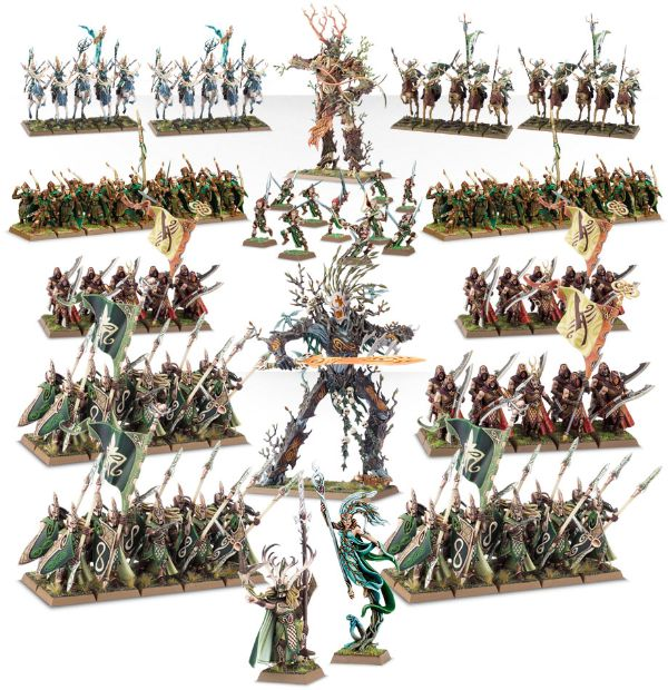 Warriors Into The Wild Setting: Wood Elves Week 2 Releases Up!