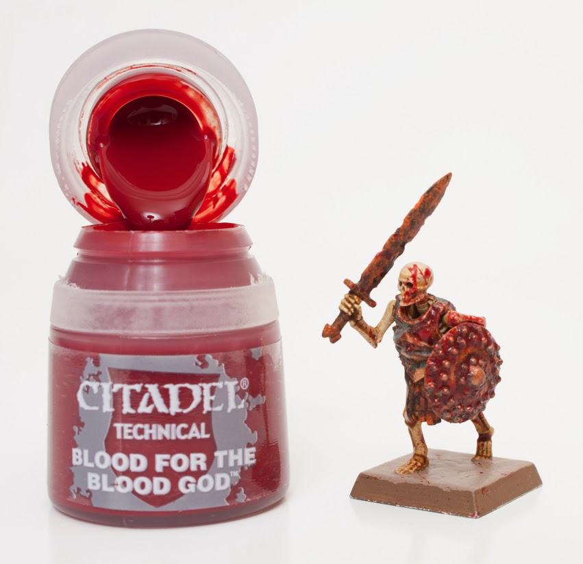 Citadel Red Paints