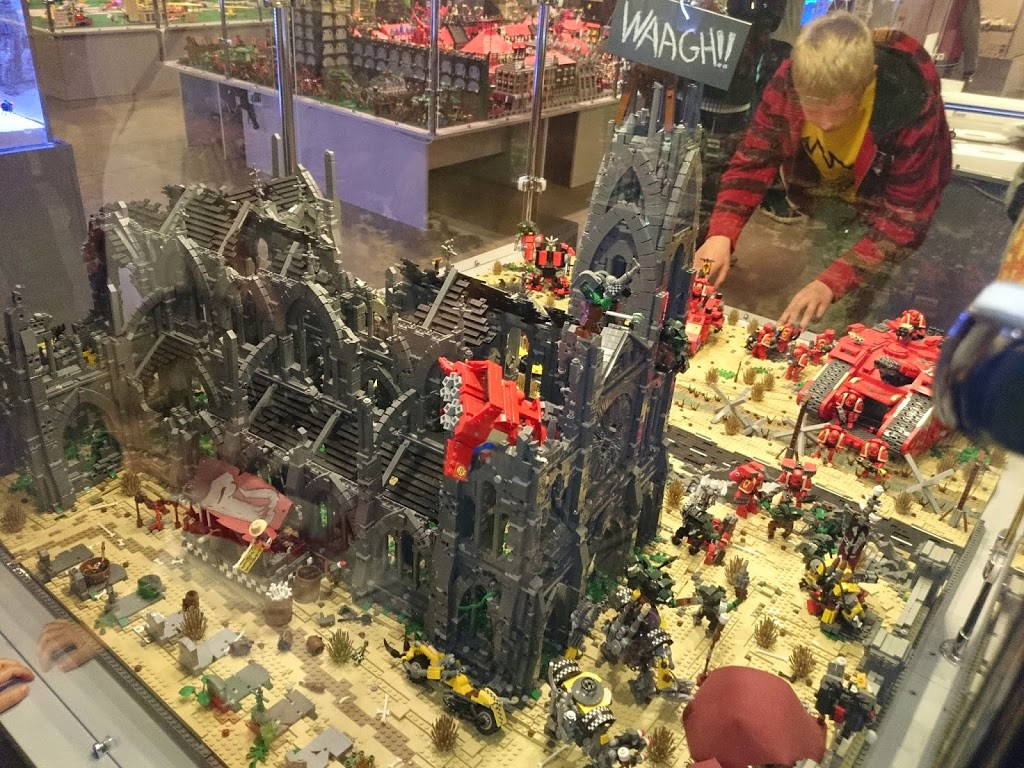 Oddball Awesome Lego Warhammer 40k Table Bell Of Lost Souls