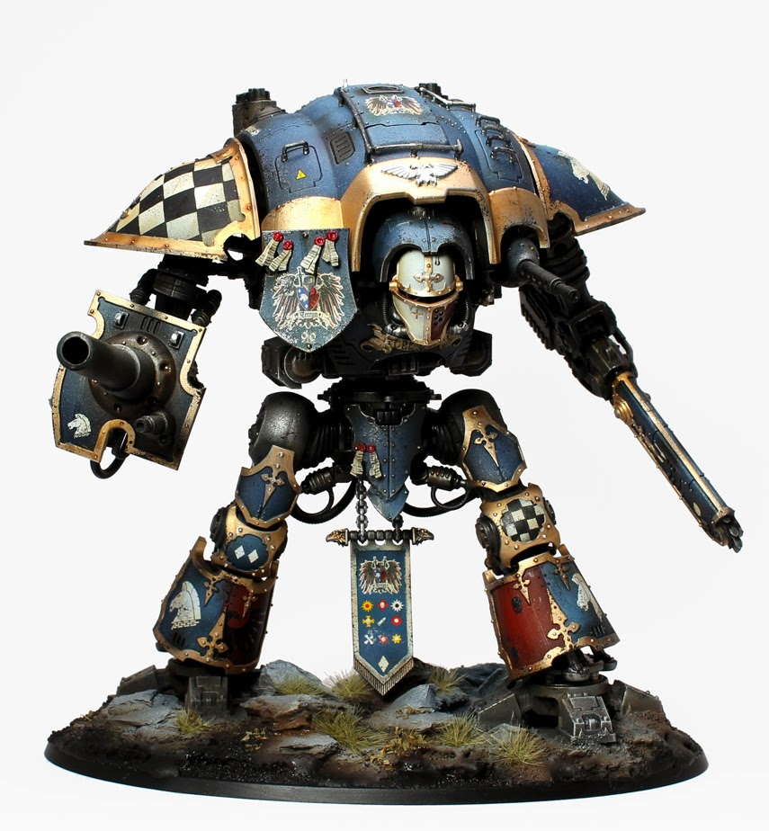40k Imperial Knight Latest Rules Review And Tactics Part