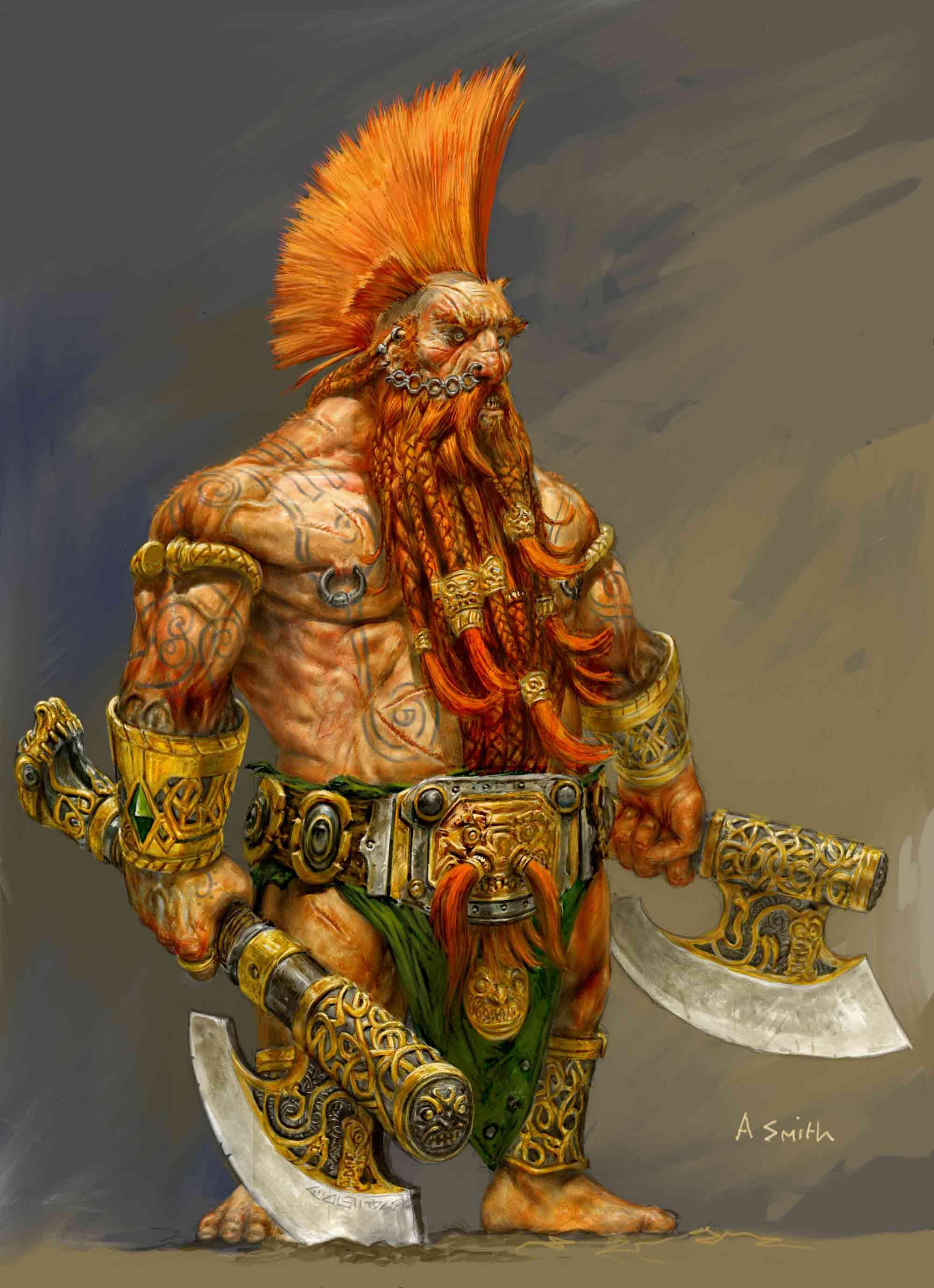 2000x2757_4041_Dwarf_slayer_for_warhammer_online_2d_fantasy_dwarf_warrior_picture_image_digital_art