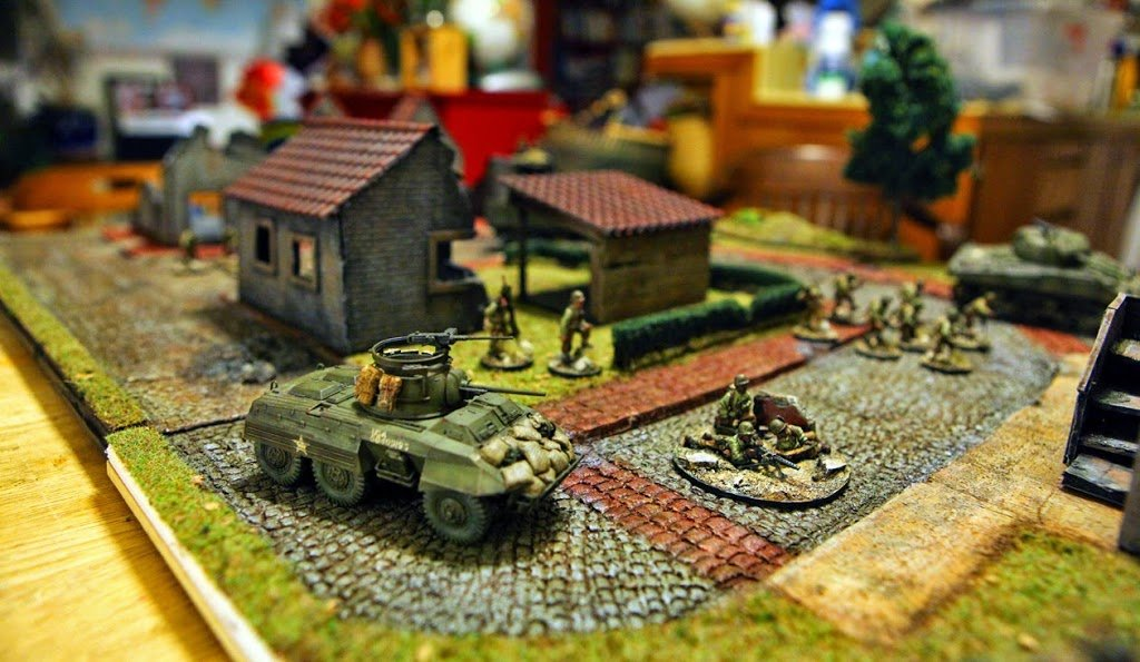 Bolt Action! Kitbashing History with M8 Greyhound - Bell of Lost Souls