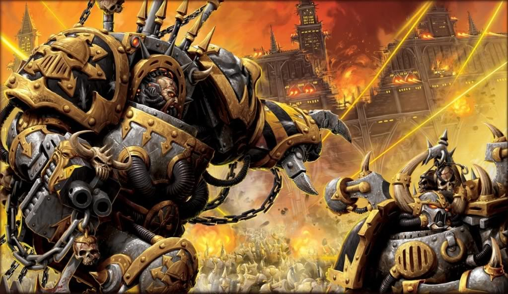 iron warriors walpaper
