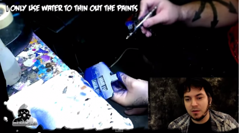Airbrushing Tutorial Warhound Titan YouTube