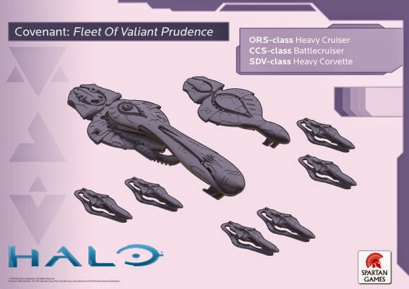Halo Fleet Battles First Look Bell Of Lost Souls