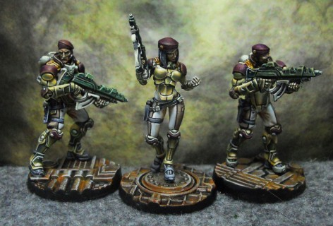 Infinity PanO Fusiliers