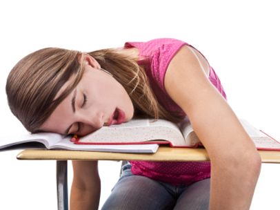 sleepy-student