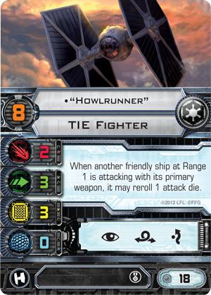 Howlrunner XWing and Armada