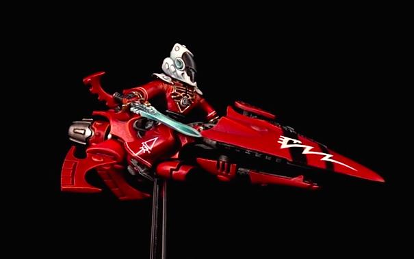 eldar warlock jetbike
