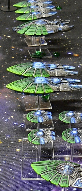Kurgan 's, from the Spartan Forums, Directorate fleet prepares for battle.