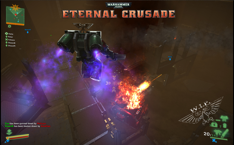 Eternal Crusade Assault Marine