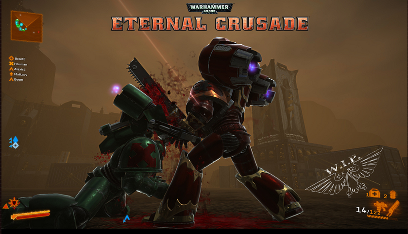 Eternal Crusade Execution