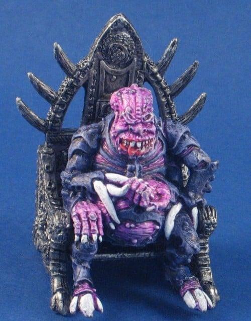 G512 - Rogue Trader Genestealer Patriarch on Throne '89     11-08-30