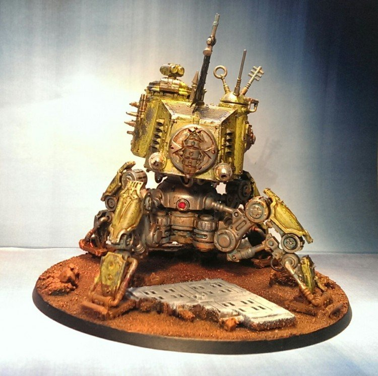 warhammer 40k machine spirit