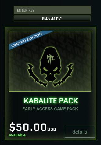 kabalite pack