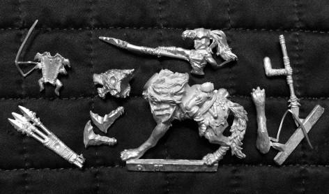 0002 Warmachine Hordes Iron Fang Tharn