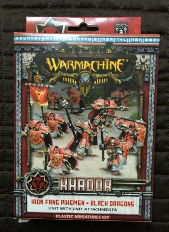 0005 Warmachine Hordes Iron Fang Tharn