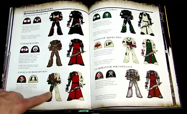 Angels codex 40k pdf warhammer dark