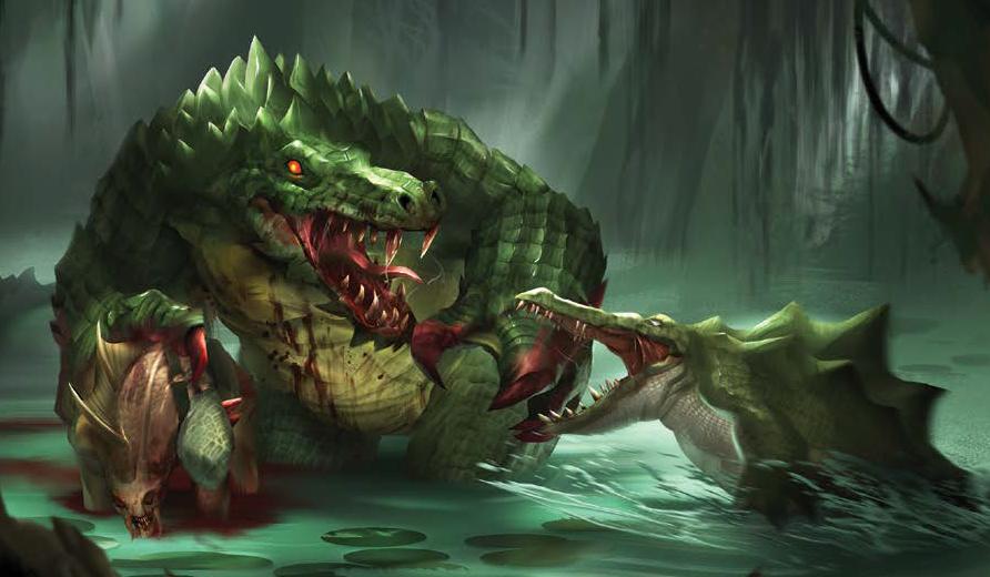 Swamp beasts