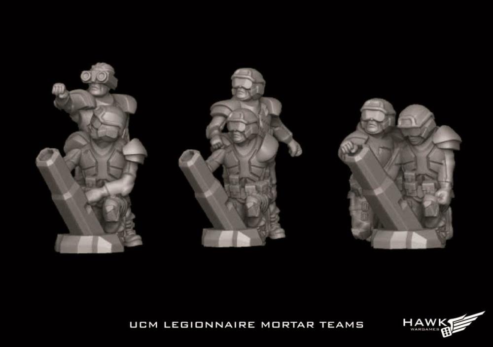UCM Legionnaire Mortar Teams