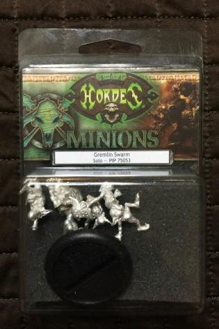 009 Hordes Minions Gremlin Swarm Unboxing