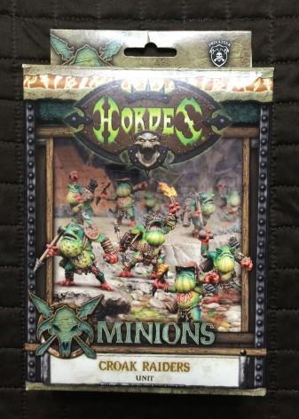 018 Hordes Minions Croak Raiders