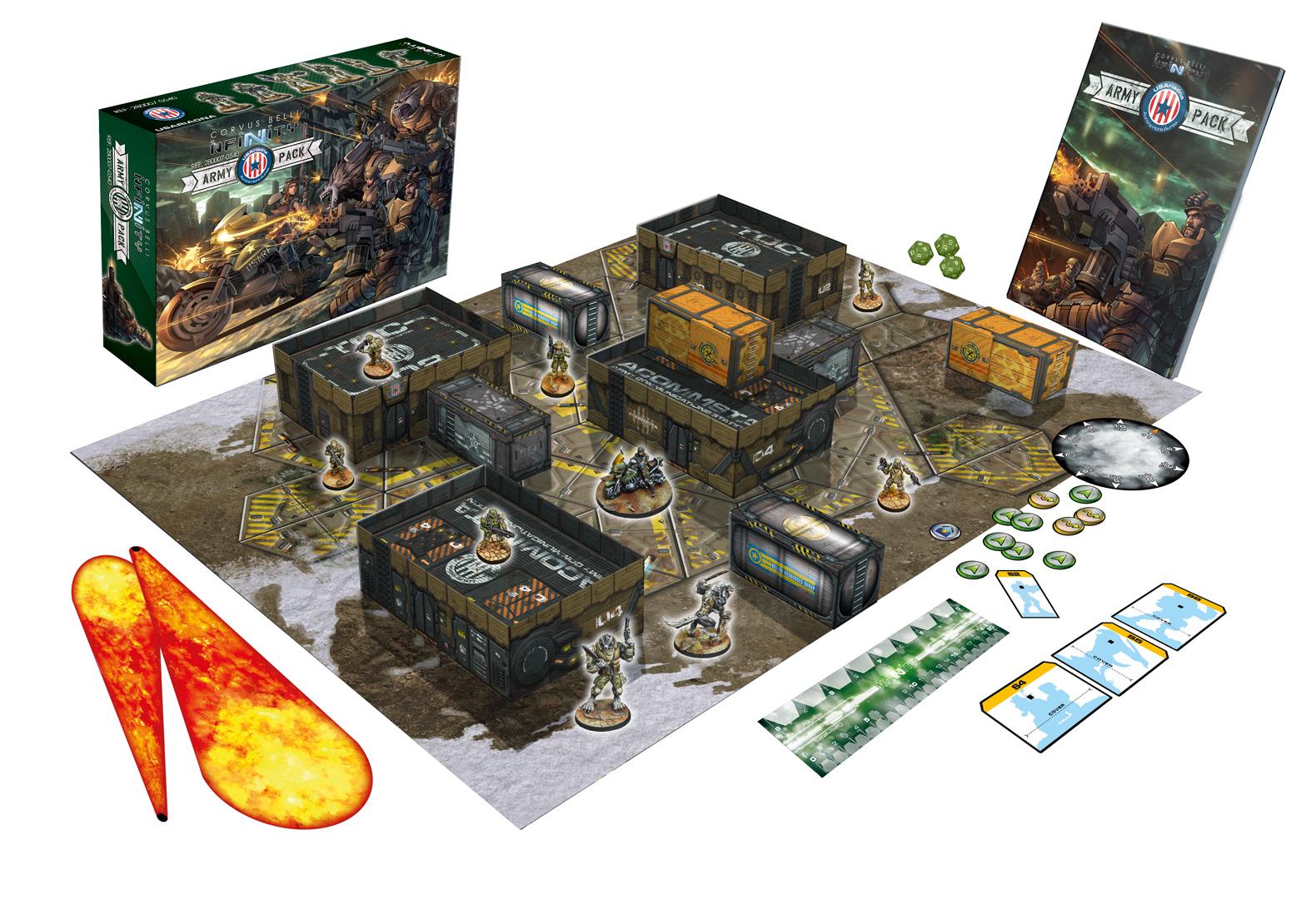 USAriadna Infinity Army Box