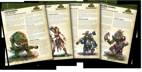 IKRPG:U AK Character Booklets