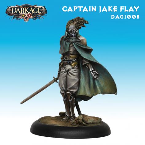 Dark Age Bounty Hunters Captain Jake Flay