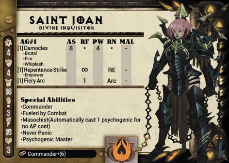 Dark Age Forsaken St Joan