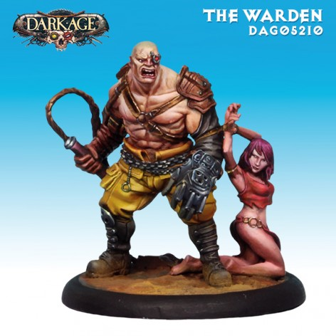 Dark Age Slavers Warden