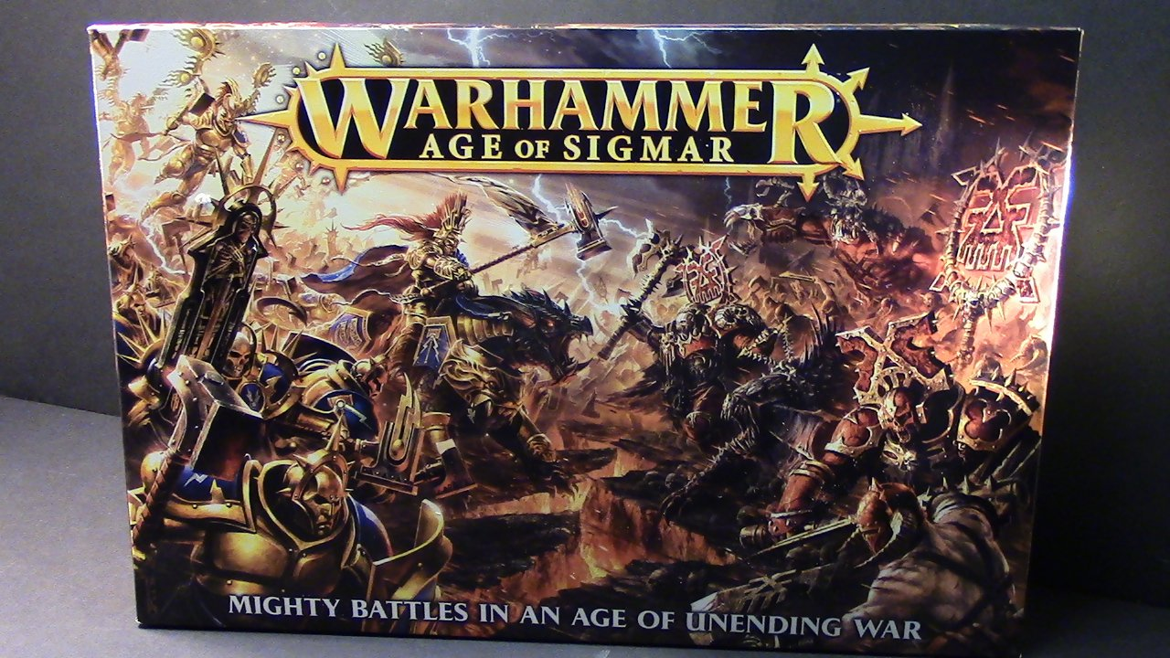 Age of Sigmar Box Front