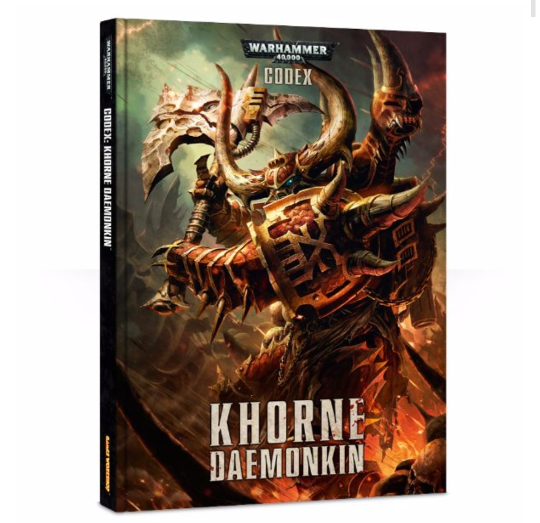 Codex Khorne Daemonkin