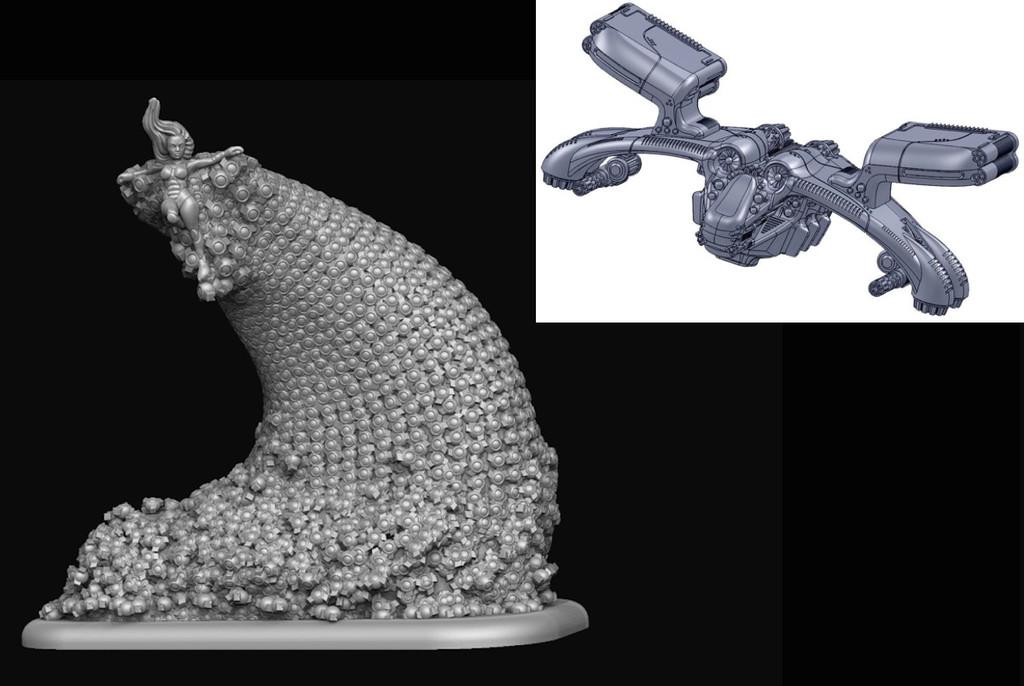 Medusa and Triton-X