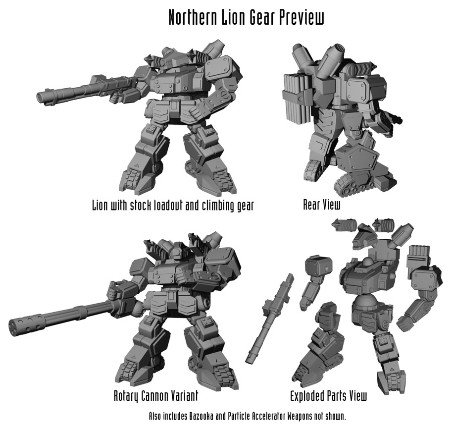 Northern Lion Gear Preview Web