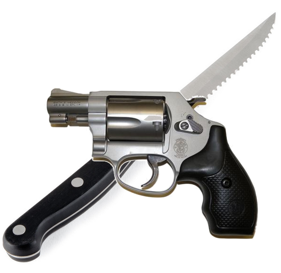 knife-gun