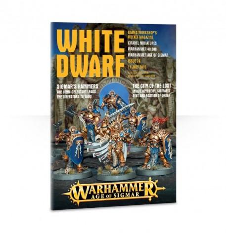 white dwarf #76 cover